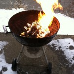 Yeah I grill in the winter